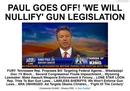 Gun Headlines